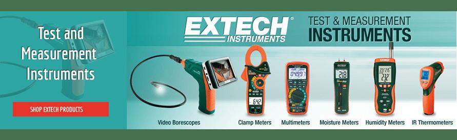 Extech banner